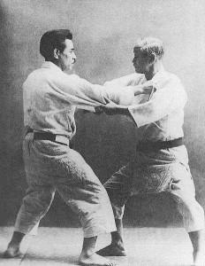 Prof. J. Kano und K. Mifune
